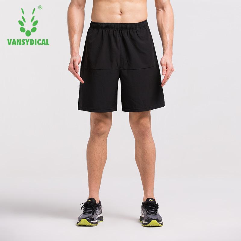 VANSYDICAL Mens Shorts de sport course confortable rapide formation à sec Athletic Gym Fitness Vêtements