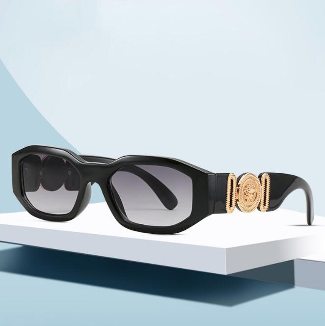 HugMee nuova personalità Occhiali da sole irregolare piccola pagina occhiali da sole unisex Moda Occhiali Hipster p0142