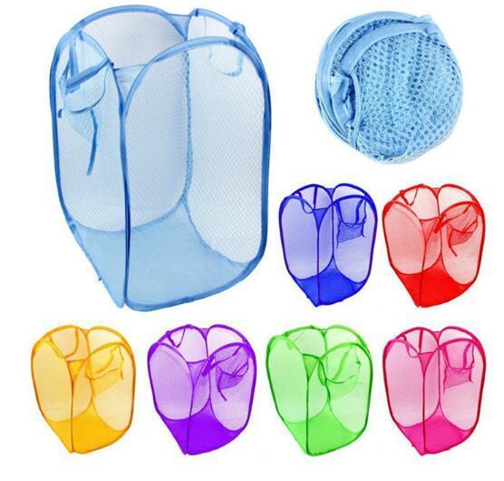 تزود طوي شبكة الغسيل سلة الملابس التخزين يطفو على السطح غسل الملابس سلة الغسيل بن تعوق شبكة حقيبة التخزين