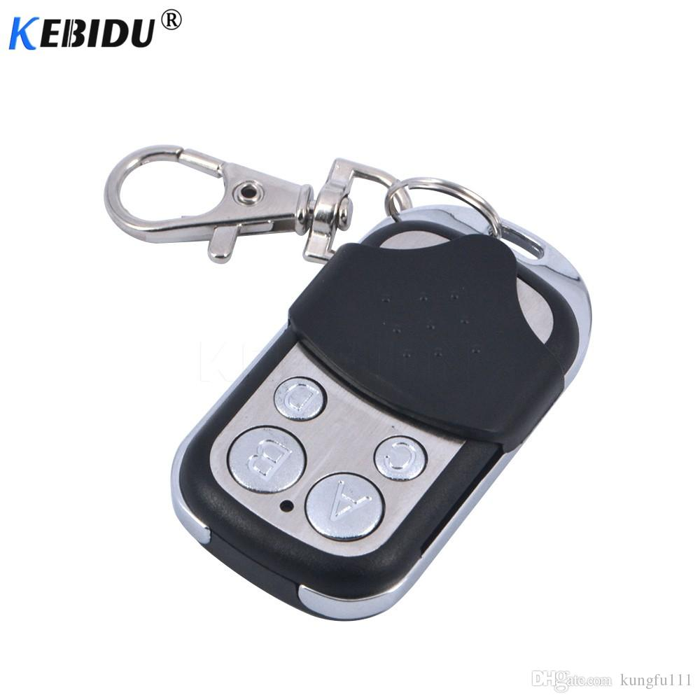 kebidu Universal Wireless 433Mhz Remote Control Copy Code 4 Channel Electric Cloning for Gate Garage Door Car Home Auto Keychain