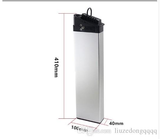 esentasse doganale pieghevole Ebike ad alta potenza 750W 36V 15AH dello Li-ion 2900mAh utilizzare cellule Panasonic con 20A BMS 42V 2A del caricatore