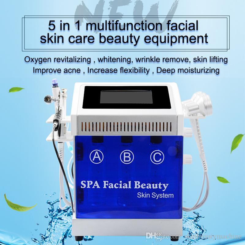 2019 hydra visage eau peau diamant machine à éplucher microdermabrasion eau hydro visage équipement de rajeunissement de la peau microdermabrasion