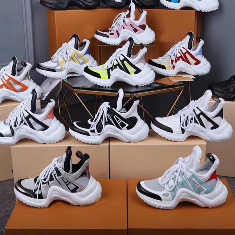 Дизайнерская женская спортивная обувь мужские кроссовки из натуральной кожи TPU подошва Повседневная обувь Мода толстая нижняя уздечка восхождение Бегун обувь 22