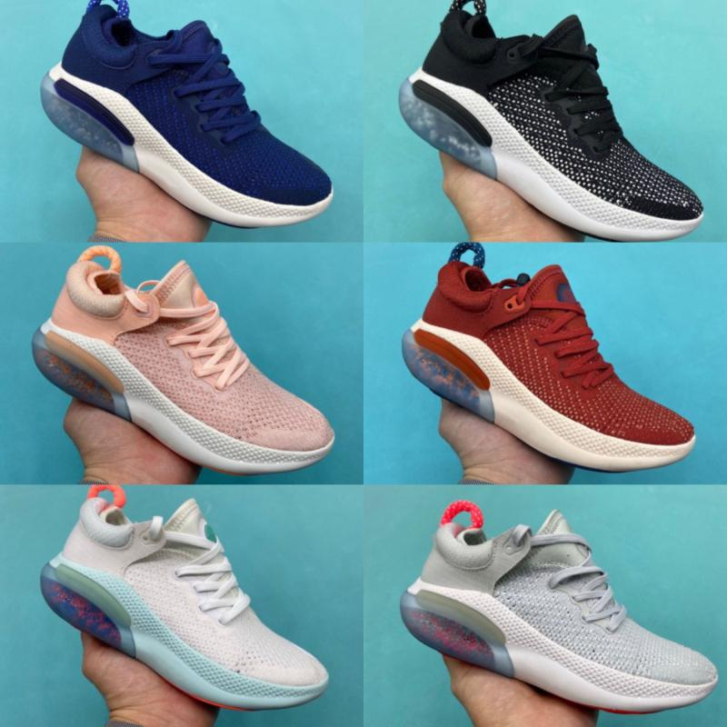 Nike JOYRIDE RUN FK Nuove uscite Joyride dei pattini correnti per gli uomini White Sail Nero Arancione Università Rosso Blu Volt bambini formatori scarpe da ginnastica