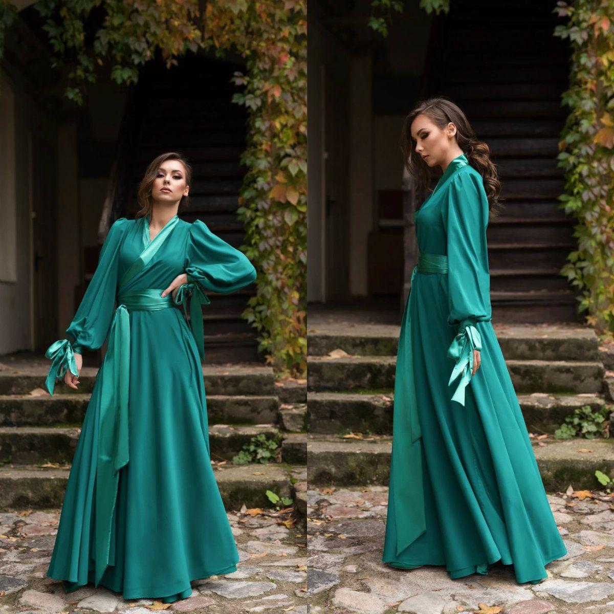 2020 della nuova biancheria sexy verde delle signore delle donne Sposa Abiti kimono in raso di seta pizzo Notte Indossare abito degli indumenti da notte