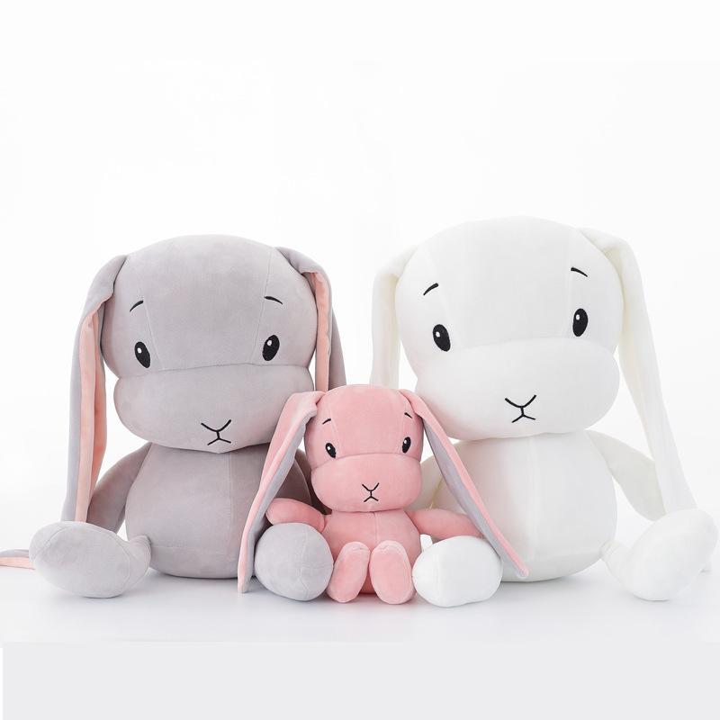 50CM 30CM Coelho bonito brinquedos de pelúcia coelhinho de pelúcia Animal Plush Brinquedos Bebê boneca acompanhar presentes brinquedo dormir por crianças WJ491 Y200623