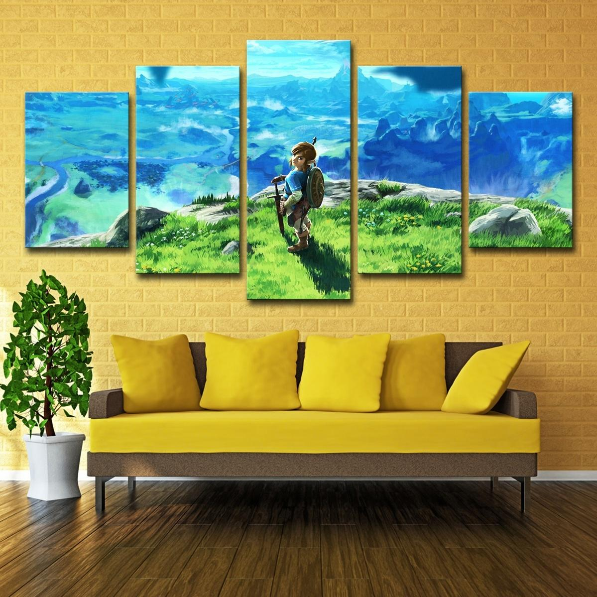 Legend Of Zelda Wall Art.2019 Only Canvas No Frame Legend Of Zelda Wall Art Hd Print Canvas Painting Fashion Hanging Pictures From Wallartpaint 20 1 Dhgate Com
