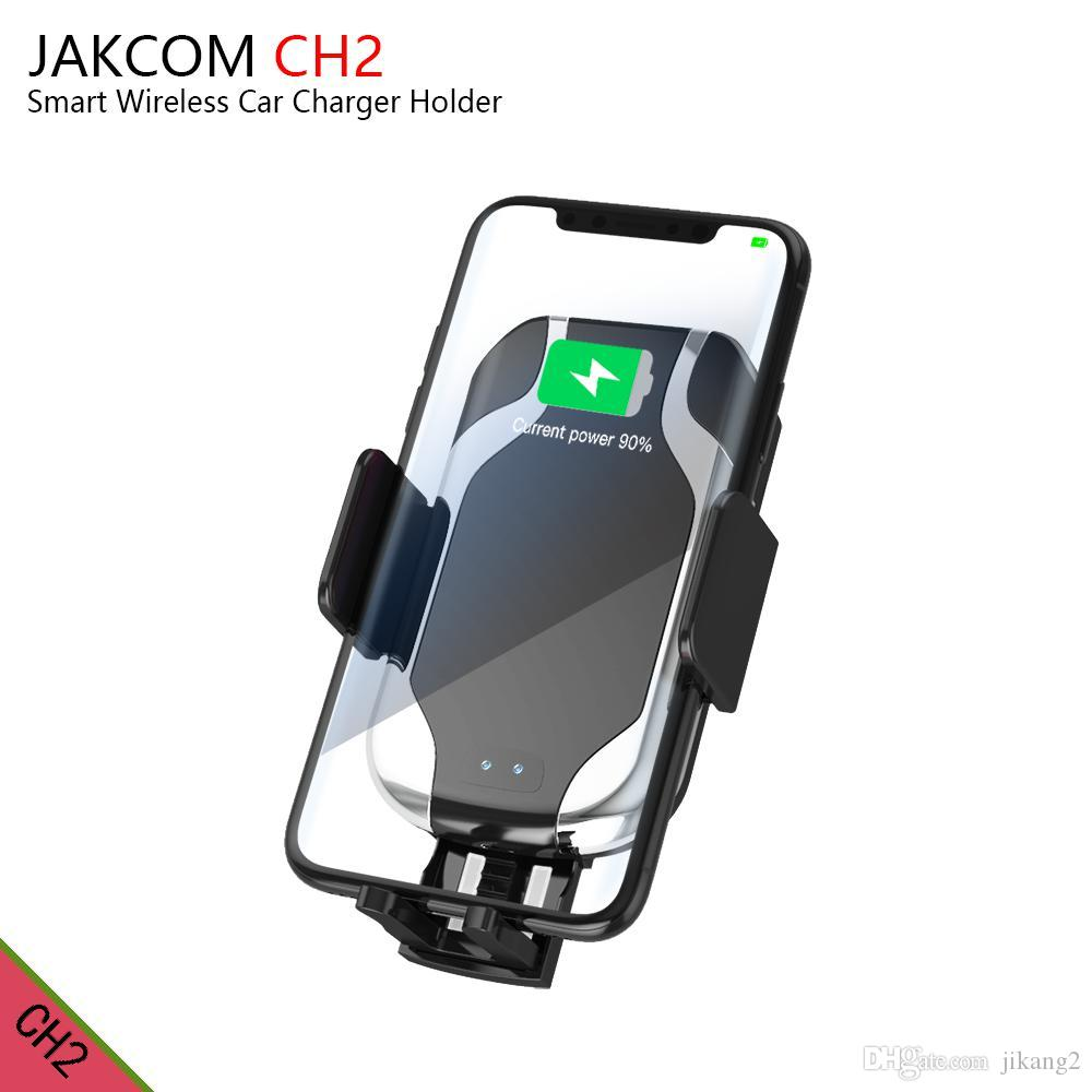 JAKCOM CH2 Smart Wireless Car Charger Mount Holder Hot Sale in Cell Phone Chargers as 2018 amazon top seller wxhbest carros