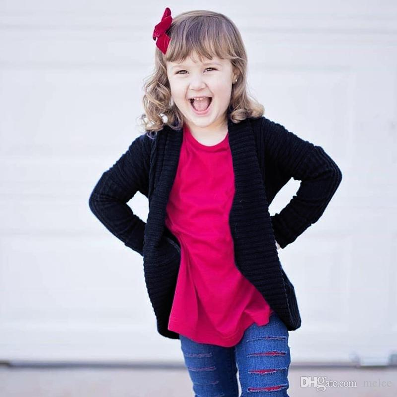 Toddler Baby Kid Girl Boys Winter Sweater Knit Warm Coat Cardigan Jacket Clothes