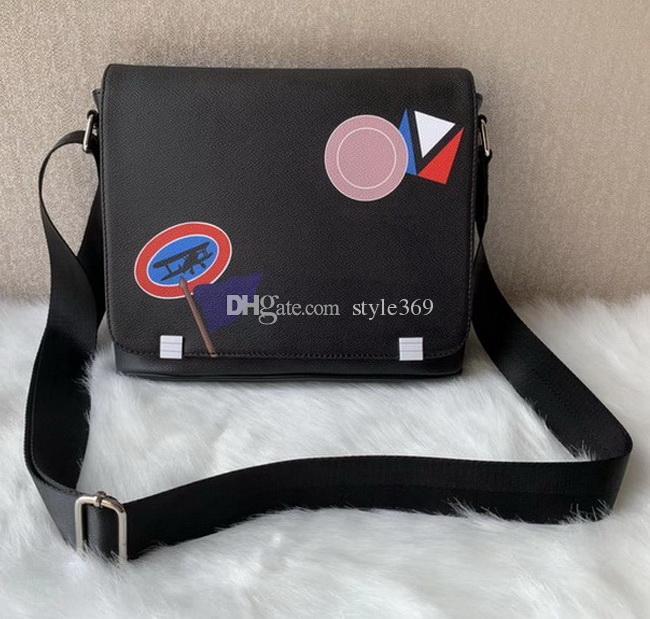 Neue Art-Mode-Männer Umhängetasche Klassische Designer Männer Taschen Messenger-Schule Bookbag Umhängetasche Kosmetiktaschen