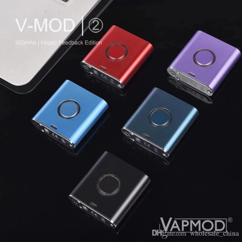 Otantik VMOD II Vape Kalem 900mAh Buharlaştırıcı Kitleri Batarya Vapmod Ön ısıtma ve kalın yağ kartuşları için değişken voltaj kutusu modu DHL