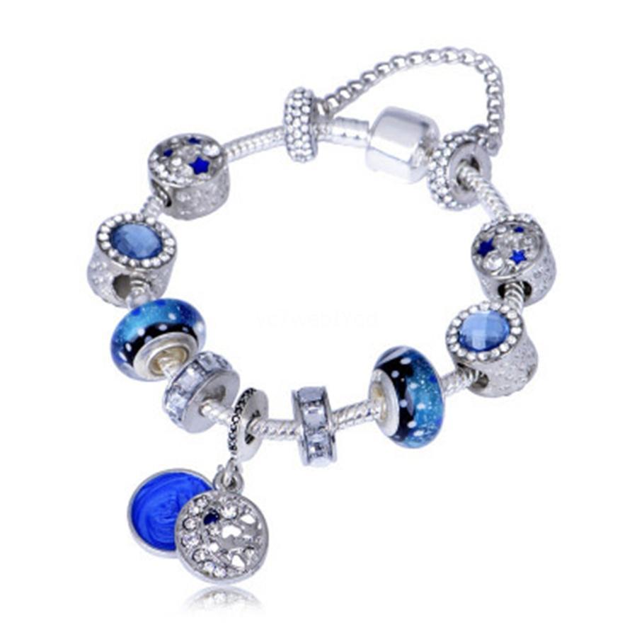 2020 Fancy Style Bohemian Diy Jewelry Wholesale Alloy Paint Beaded Bracelet Fashion Letters Love Couple Bracelets For Women Amd Men Gift#361