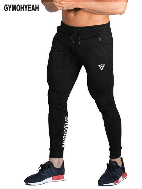 Erkek Pantolon Erkekler Casual Jogger Erkek Sweatpants Kemer İpli 2021 Pockets Düz Renkler Dar Ayaklar Marka Giyim