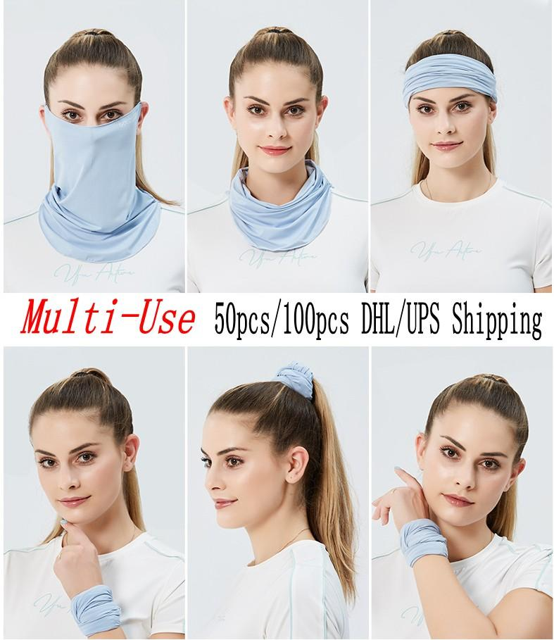 New Arrival Ice Cotton Women Fashion Designed Face Mask For Outdoor Cycling Riding Sports Protective Mask FY6244