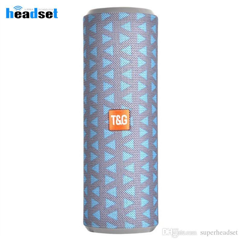 TG126 beweglicher drahtloser Bluetooth Lautsprecher Bluetooth Stereo-Lautsprecher Spalte Subwoofer Mini-Computer-Lautsprecher Unterstützung AUX USB TF