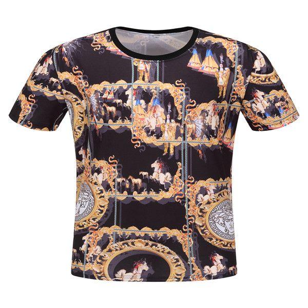 20Wholesale Free shipping luxe T-shirt hip-hop mode d'impression concepteur T-shirt à manches courtes T-shirt des hommes de haute qualité des hommes