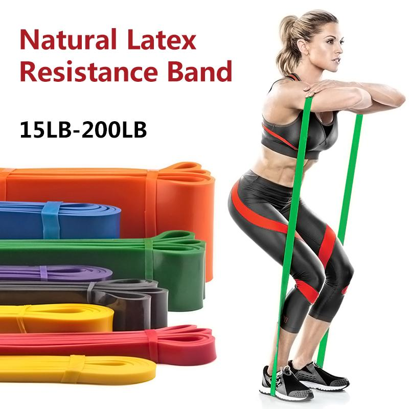 Fitness Elastic Resistance Band Pull Up Crossfit Sport Workout Fitness Gum Gym Krafttraining Gummi-Expander Zugseil
