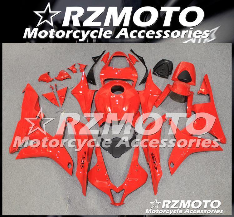 Hochwertige Spritzguss Neue ABS-Motorrad-Verkleidungen Kit Fit für Honda CBR600RR F5 2007 2008 Karosserie-Set benutzerdefinierte Red