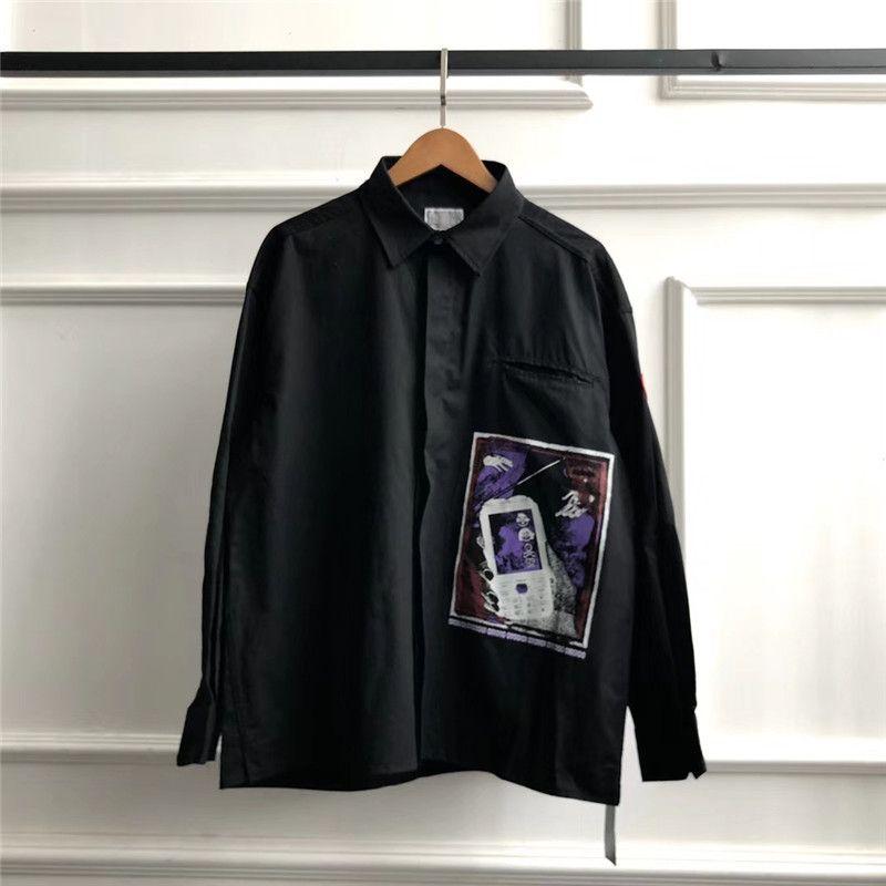 CAVEMPT Chemises Hommes Femmes 1: 1 Meilleur - Qualité Mode Casual Oversize C. E Cav Empt Chemises CAV EMPT Chemises T200417