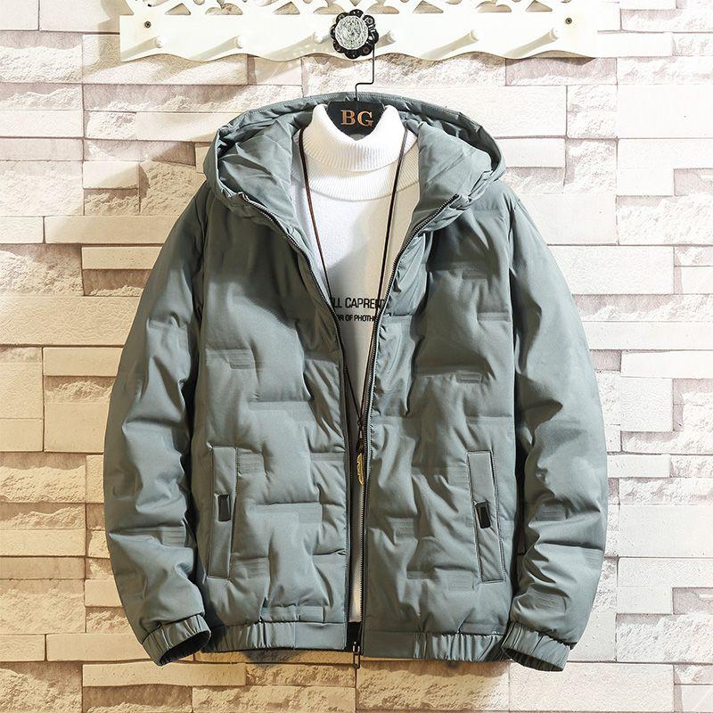 Veste d'hiver 2019 hommes et manteau Peffer Parka hommes Vêtements d'hiver Down Casual Taille Plus Hooded M-5XL