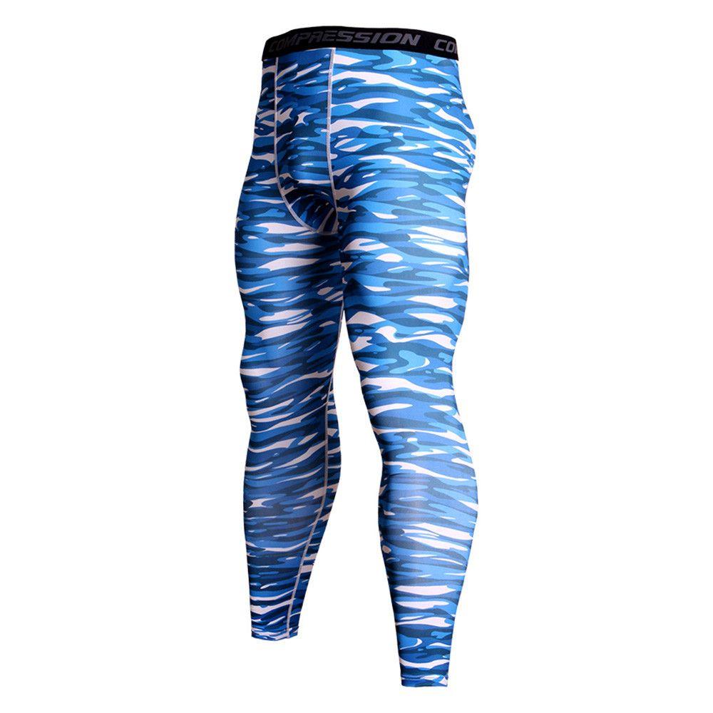 SZYADEOU мода камуфляж печати леггинсы Мужские брюки дышащий высокое качество брюки термальные кальсоны нижнее белье брюки B1
