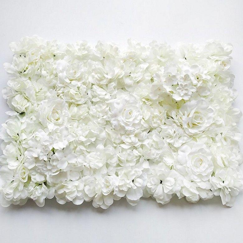 60x40cm Artificial Flower wall decoration Road Lead Hydrangea Peony Rose Flower for Wedding Arch Pavilion Corners decor floral