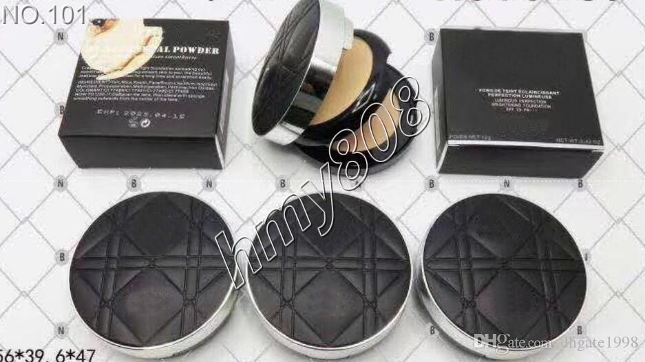 Epacket Makeup Face Pulver Doppelschicht Natrual Matte Kompakte Puderhaut langlebiges gepresstes Pulver haben 3 verschiedene Farbe