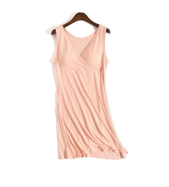 Gravidez Vestidos de maternidade de verão Modal bonito manga curta macia e de enfermagem confortável Maternidade Amamentação Vestido
