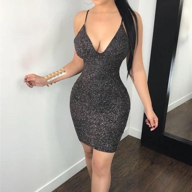 NEW Lovely Women Lowcut Backless Sleeveless Bandage Tie Dye Print Skinny Dress
