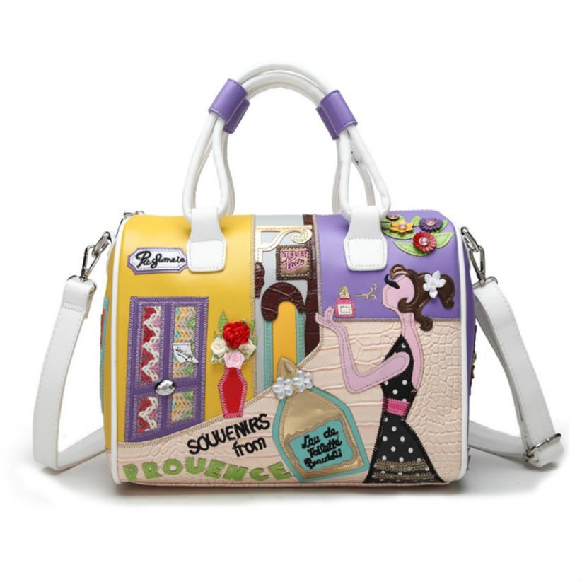 Designer Luxury Handbags Purses Womens Luxury Designer Bag Handbags Hand Embroidered Decoration Large Capacity Three-dimensional Fashion3
