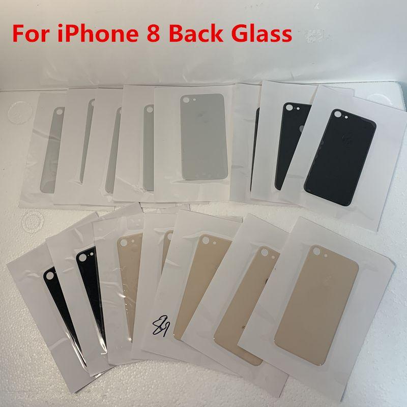 iPhone Por volta de vidro 8 8P Cover Plus bateria porta traseira Habitação Big Reter Preto Ouro Branco Red Hot Sale