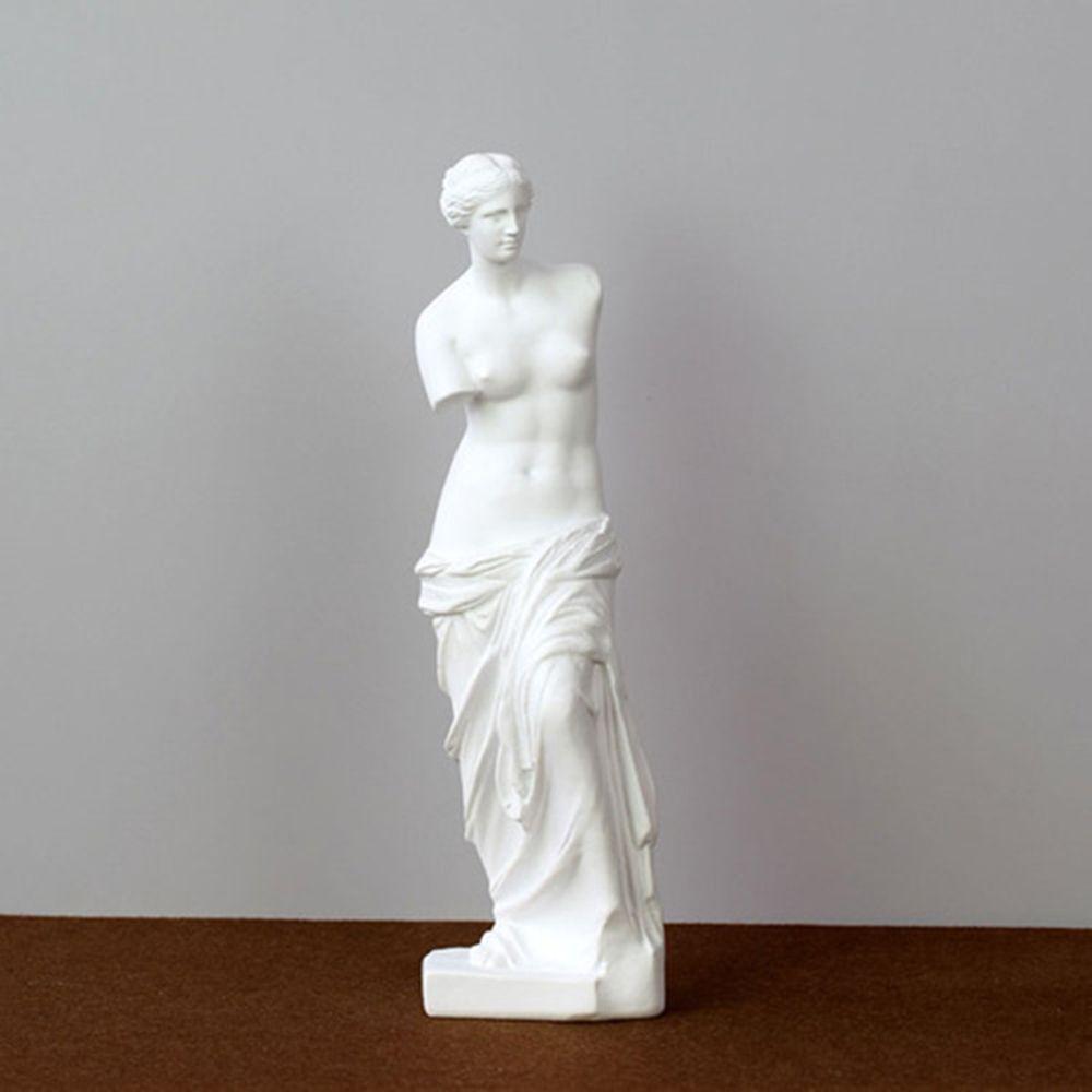 Nuevos brazo roto ornamentos Venus, escultura del dios griego Miros, accesorios para el hogar, la figura de resina estatua de resina Decoración pastoral Europea