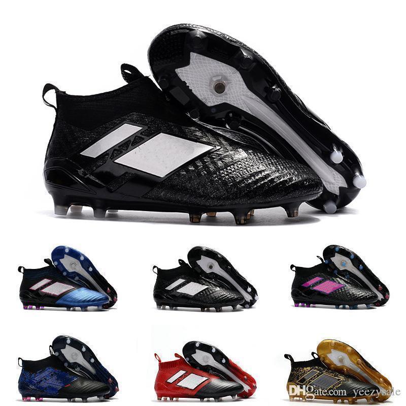 Fg Ace 17 Purecontrol Fashion Football Shoes Hot Sale Men Soccer Shoes جديد أحذية رخيصة للرجال لكرة القدم شحن مجاني الحجم 39-45