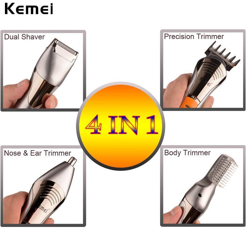 Kemei 570A 7 in 1 capelli fai da te elettrico trimmer Trimmer più lungo di rimozione dimensione Clipper Strumento KoDkq