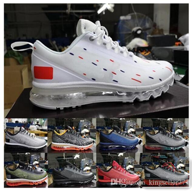 2020 Fayda Hua 150 Yastık Erkek Eğitmenler Ayakkabı Siyah Beyaz Mavi Kırmızı Yeşil Spor Koşu Tasarımcı Erkekler Sneaker Boyut 40-45 Koşu