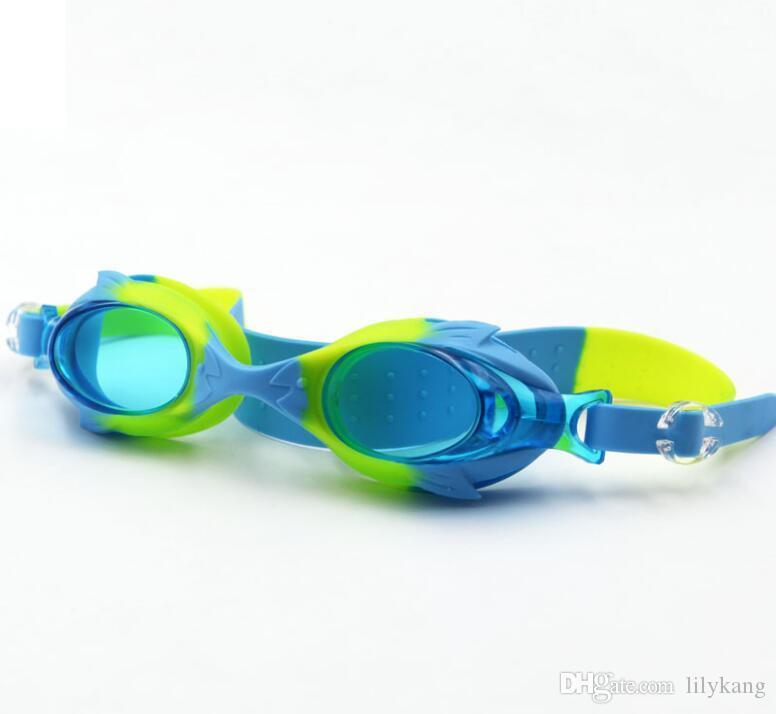 تعديل سباحة نظارات المهنية الضباب الضوء حملق بنين أطفال بنات السباحة نظارات الأطفال نظارات الرياضات المائية الطفل السباحة نظارات