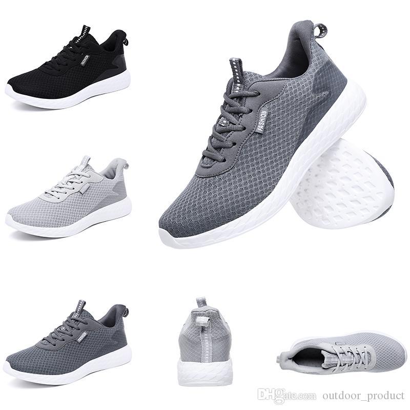 femmes Livraison gratuite hommes chaussures de course blanc gris noir Poids léger Runners Sports formateurs Chaussures de marque maison fabriqués en Chine