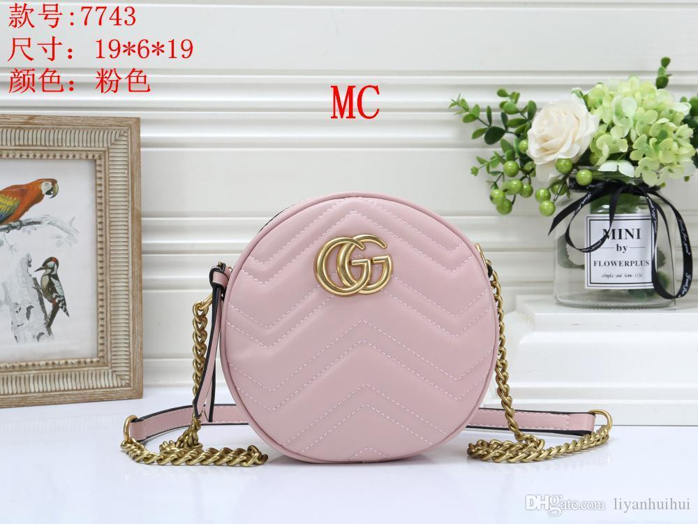 Women's Handbag Classic Small Series Of Fashion Hot Mom Lady Chain Bag Elegant Bulk Corrugated Woman Leather Shoulder Purse Handbags BagH159