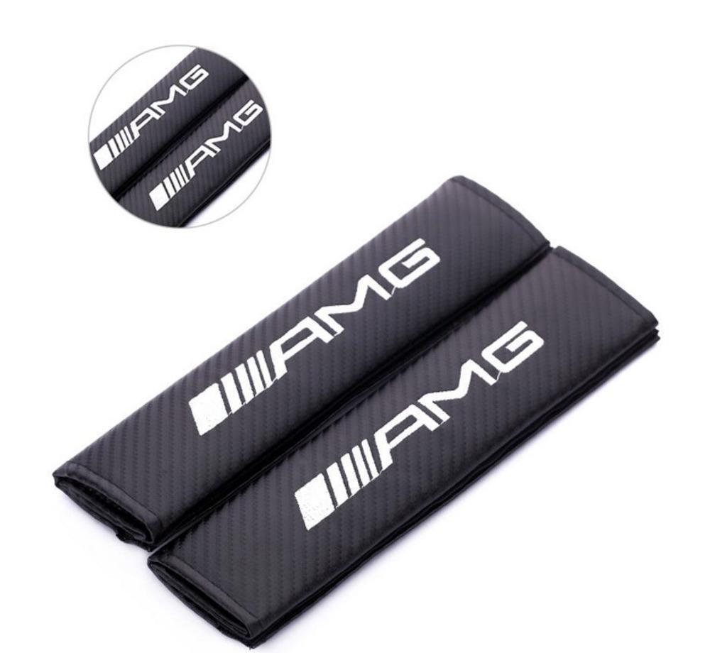 In fibra di carbonio della cintura di rilievo copertura del rilievo di spalla per Ford KIA MINI MOMO AMG ST STI Volvo Car Styling 2Pcs / Lot