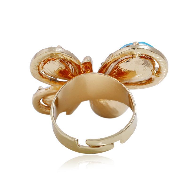Atacado-Diamond Ring com abertura regulável de Moda Anel no Japão e Coréia