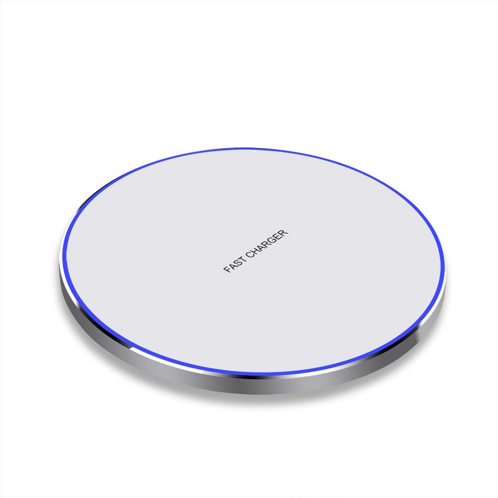 Один PCS случай 10W быстрого беспроводного зарядного устройства FDGAO / QI Tablet Зарядка для iPhone 11 XS MAX для Samsung Galaxy Fold S10 S10 +