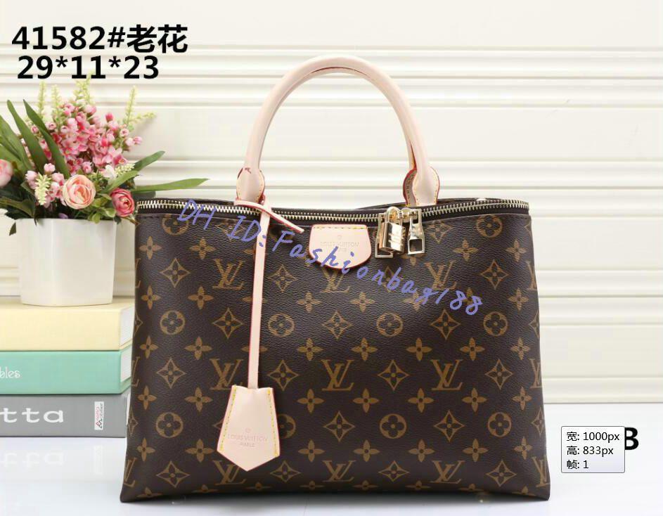 41582 estilos carteira moneybag R7Q7 Handbag nome famoso Moda Couro homens Tote Shoulder Senhora bolsas de couro bolsa forma sacos de embreagem