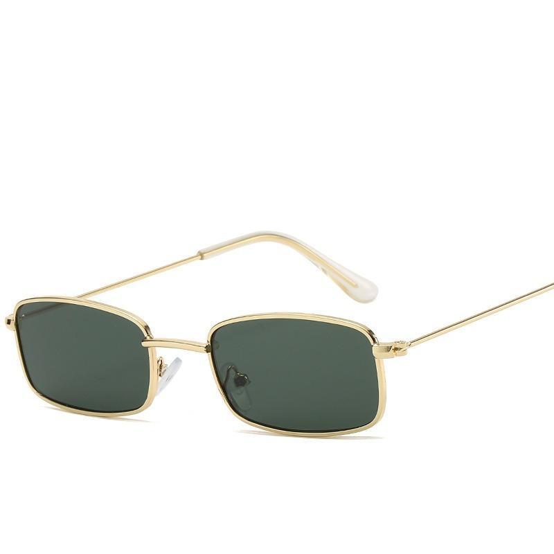 Heißer Verkauf 2020 neue personalisierte Kleine Frame Square Sonnenbrille Mode für Männer und Frauen Transparent Full Frame All-around-Sonnenbrillen CNE