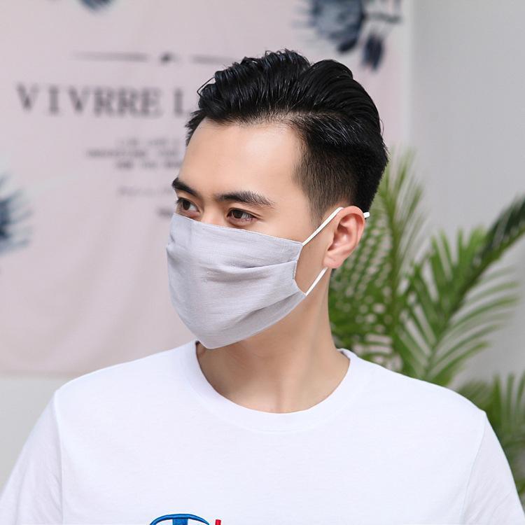 Главные мужчины и женщины, а также пыленепроницаемые и ВС доказательство регулируемой маска для лица чистого хлопок маска черного тонкого модного дизайн маска 6057