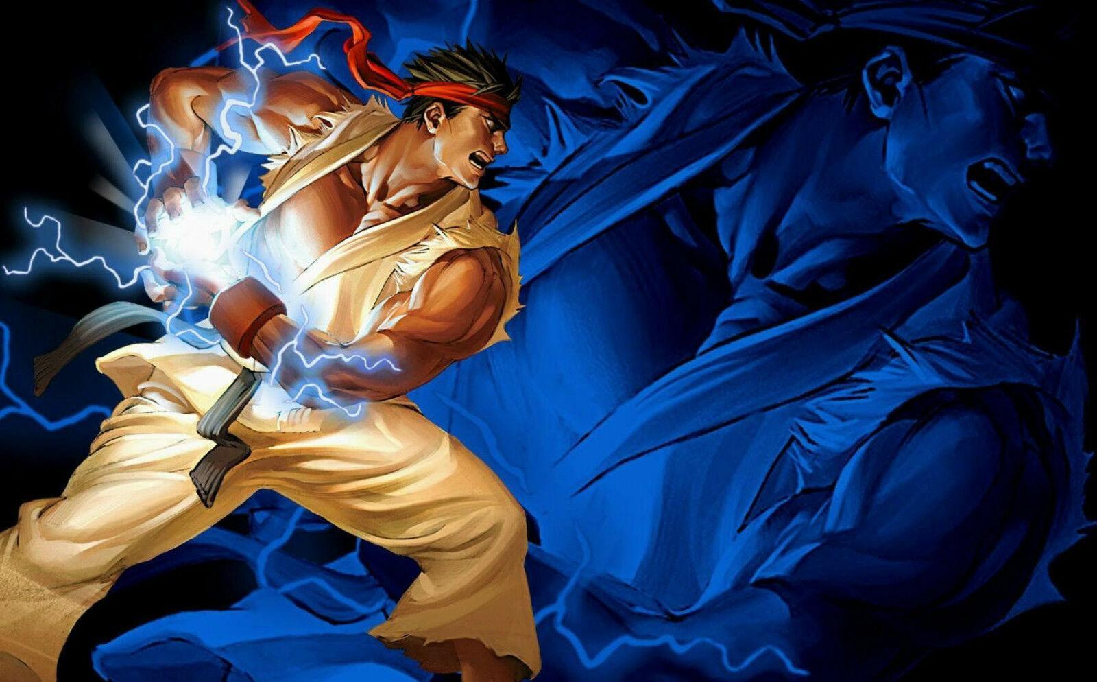 2020 Ryu The Street Fighter Wall Decor Art Silk Print Poster