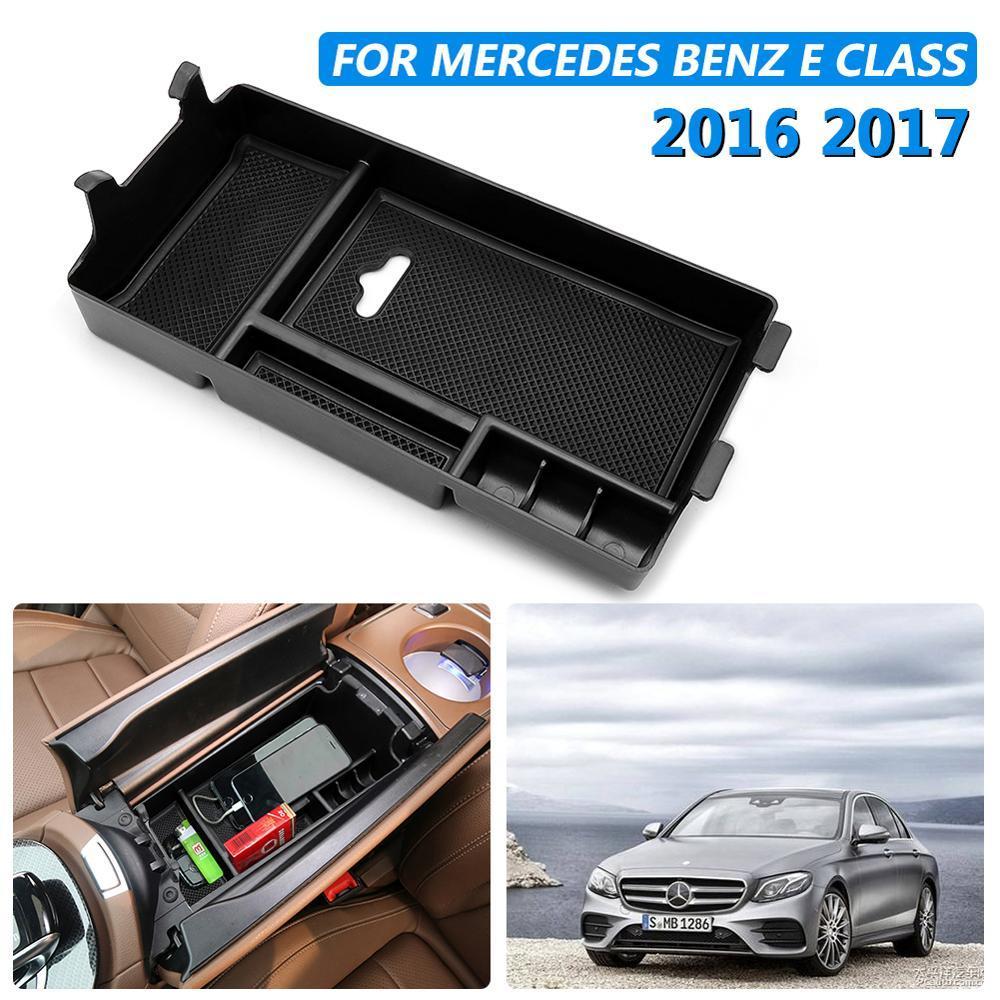 Car Holder Storage Box contenitore vassoio Accessori Organizzatore auto per Classe E W213 2016 2017