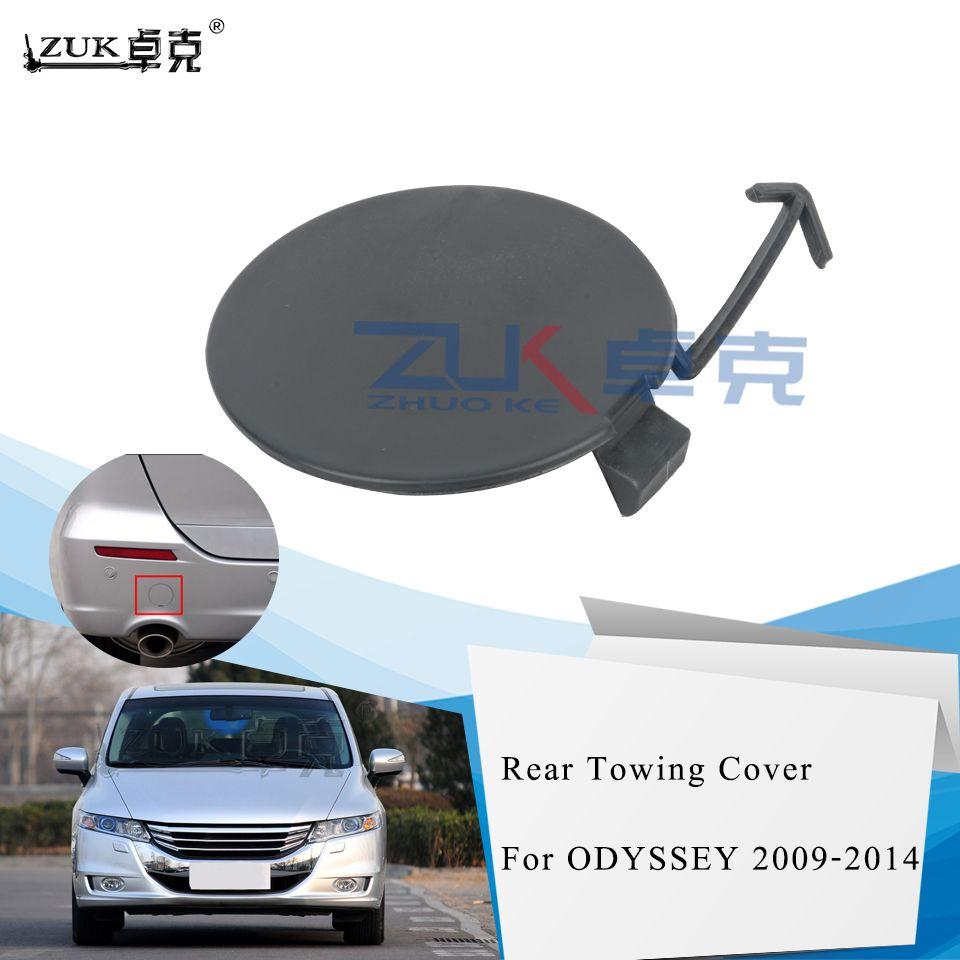 ZUK Rear Bumper Towing Hook Cover Cap For HONDA ODYSSEY RB3 2009 2010 2011 2012 2013 71504-SLE-000 71504SLE000 Base Color
