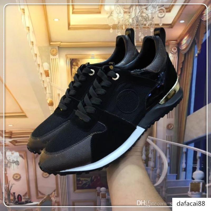 marque de luxe HD 2019 chaussures de marque Hommes Chaussures Belle Chaussures plateforme luxe Designers Casual Chaussures en cuir Couleurs solides Chaussures de