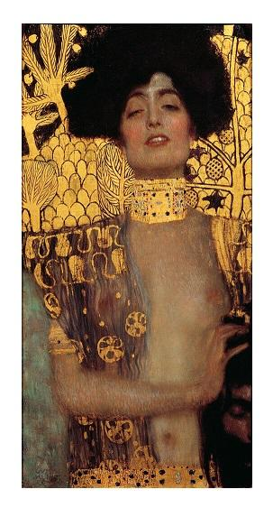 Gustav Klimt - Judith and the Head of Holofernes Handpainted Wall Art Oil Painting On Canvas Home Decor Multi Sizes LO1227