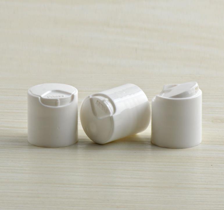 24/410 الأبيض واضح ضغط شياكي غطاء بلاستيكي القرص الأعلى كاب 5000PCS / LOT SN891